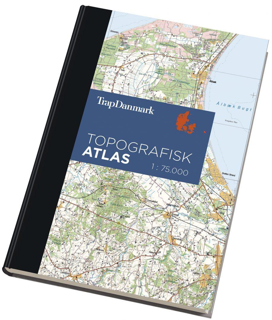Trap Danmark Topografisk Atlas 1 Udgave Trap Danmark 6 Udgave