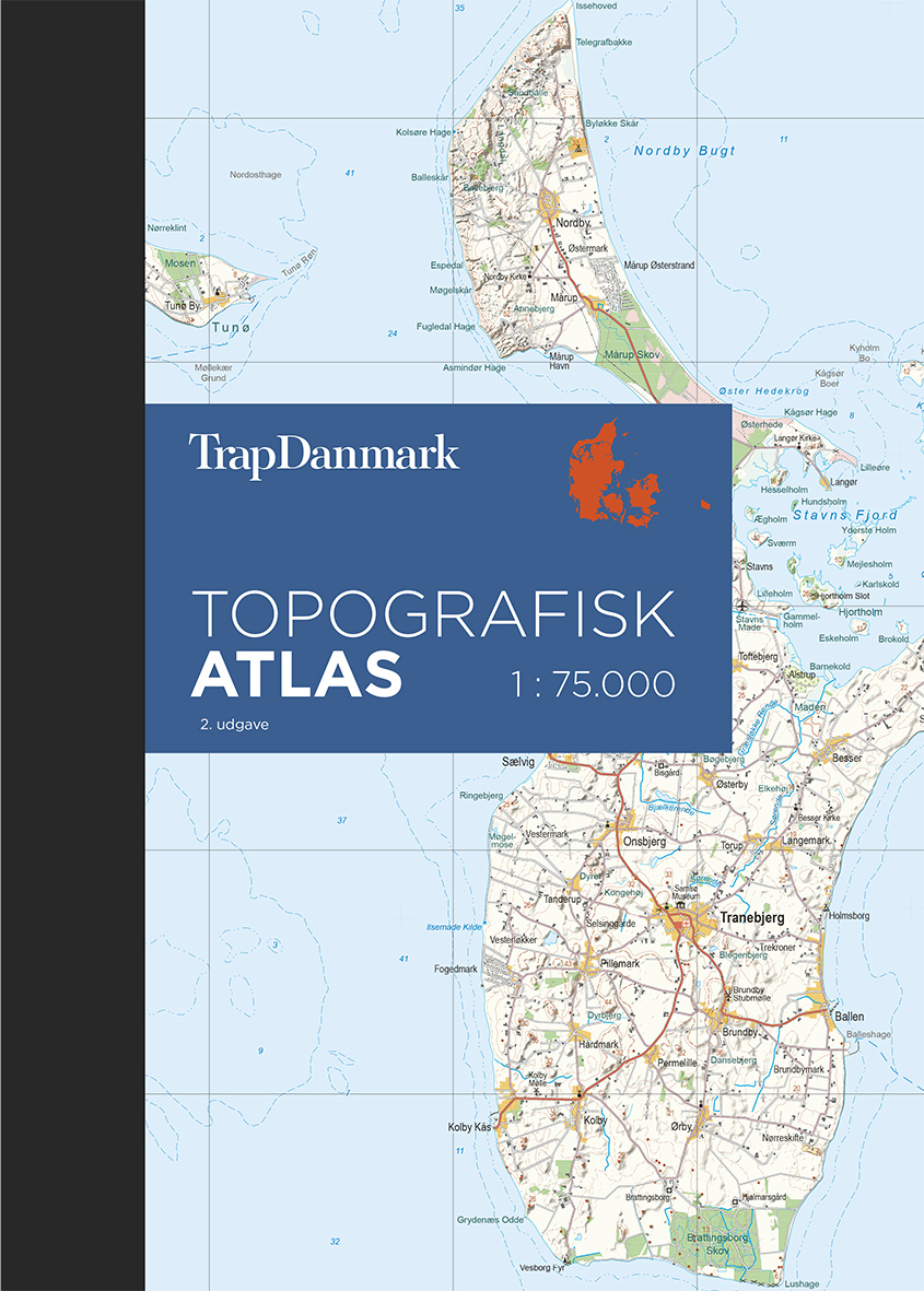 Trap Danmark Topografisk Atlas 2 Udgave Trap Danmark 6 Udgave